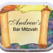 Large Tin W/ Peppermints Party Favor | Barmitzvah.com