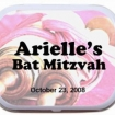 Small Tin W/ Peppermints Party Favor | Barmitzvah.com