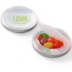 Snap Top Candy Case With Jelly Beans Party Favor | Barmitzvah.com