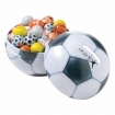 Mini Soccer Ball Tin Bank-Chocolate Sport Balls Party Favor | Barmitzvah.com