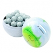 Mini Golf Ball Tin Bank-Chocolate Sport Balls Party Favor | Barmitzvah.com