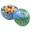 Mini Globe Tin Bank-Chocolate Sport Balls Party Favor | Barmitzvah.com
