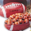 Mini Football Tin Bank-Chocolate Sport Balls Party Favor | Barmitzvah.com