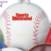 Mini Baseball Tin Bank - Chocolate Sport Balls Party Favor | Barmitzvah.com