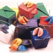 Chinese Carry-Out Boxes in Many Great Colors Party Favor | Barmitzvah.com