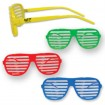 Slotted Colored Glasses Party Favor ***SPECIAL PRICING*** | Barmitzvah.com