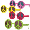 Neon Peace Sunglasses Party Favor | Barmitzvah.com