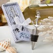 Nautical Themed Anchor Bottle Stopper Party Favor | Barmitzvah.com