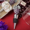 Vineyard Collection Wine Bottle Stopper Party Favors | Barmitzvah.com