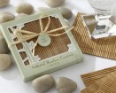 Natural Bamboo Eco-Friendly Coasters Party Favor | Barmitzvah.com