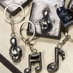 Musical Note Key Chain Party Favor | Barmitzvah.com