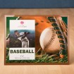 Baseball Themed Frame Party Favor | Barmitzvah.com
