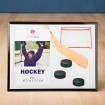 Hockey Themed Frame Party Favors | Barmitzvah.com