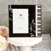 Music Themed Glass Frame Party Favor  | Barmitzvah.com