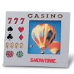 Frame W/Translucent Glass Casino Theme ***SPECIAL PRICING*** | Barmitzvah.com