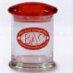 New Orleans Clear Jar W/Colored Lid-Empty Party Favor | Barmitzvah.com