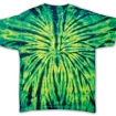 Wild Spider Tie Dye On Tee Party Favor | Barmitzvah.com