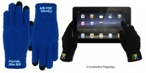 Fuzzy Text-Touch Screen Gloves ***SPECIAL PRICING*** | Barmitzvah.com
