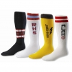 Custom Woven Logo Soccer Socks Party Favor | Barmitzvah.com