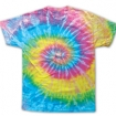 Saturn Tie Dye On Hanes Tee Party Favor | Barmitzvah.com