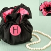 The Cosmopolitan Monogrammed Jewelry Pouch Party Fav | Barmitzvah.com