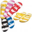 Striped Flip Flops Party Favor ***SPECIAL PRICING*** | Barmitzvah.com