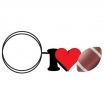 I Love Football Key Chain Party Favor | Barmitzvah.com