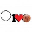 I Love Basketball Key Chain Party Favor | Barmitzvah.com