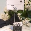 Clapboard Style Place Card Holder Party Favor | Barmitzvah.com