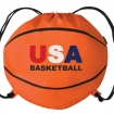 Basketball Drawstring Bag Party Favor ***SPECIAL PRICING*** | Barmitzvah.com