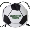 Soccer Ball Drawstring Bags Party Favor ***SPECIAL PRICING*** | Barmitzvah.com