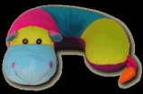 Hippo Critter Neck Pillow Party Favor | Barmitzvah.com