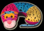Leopard Critter Neck Pillow Party Favor | Barmitzvah.com