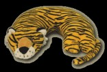 Tiger Critter Neck Pillow Party Favor | Barmitzvah.com