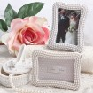 Pearlized Placecard Holder / Photo Frame Party Favor | Barmitzvah.com