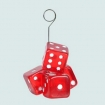 Dice Placecard Holder/Balloon Holder Party Favor | Barmitzvah.com