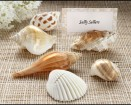Authentic Shell Place Card Holders Party Favor  | Barmitzvah.com