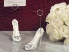 Dazzling Shoe Design Place Card Holder Party Favor | Barmitzvah.com