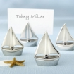 Shining Sails Silver Place Card Holders Party Favor | Barmitzvah.com