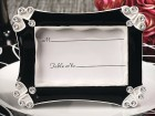 Black And White Photo Frame/Placecard Holder Party Favor | Barmitzvah.com