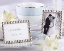 Silver Pearls Place Card/Photo Holder Party Favor | Barmitzvah.com