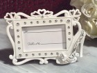 Belle Of The Ball Dazzling Shoe Design Photo Frame Party Favor | Barmitzvah.com