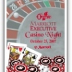 Casino Nights Poker Size Playing Cards Party Favor | Barmitzvah.com
