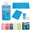 Sport Towel In Plastic Case Party Favor ***SPECIAL PRICING*** | Barmitzvah.com