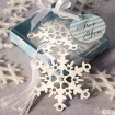 Snowflake Designed Bookmark Party Favor | Barmitzvah.com