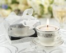 'Music of the Heart' Frosted-Glass Tealight Holder Par | Barmitzvah.com