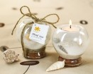 Sand and Shell Tealight Holder Party Favor | Barmitzvah.com