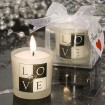 LOVE Design Candle Party Favors | Barmitzvah.com