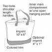 Egreen Canvas Tote Party Favor ***SPECIAL PRICING*** | Barmitzvah.com