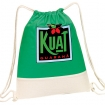 Go Green Drawstring Duffle Bag Party Favor ***SPECIAL PRICING*** | Barmitzvah.com